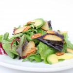 Plum, Avocado, & Pecan Salad-2
