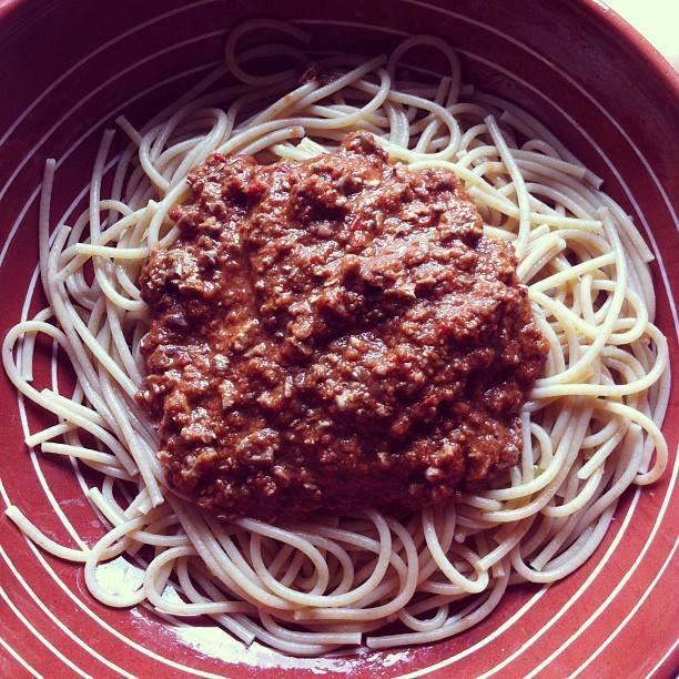 spagetata con kima