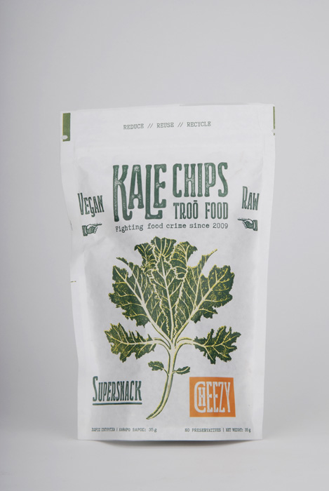 kale chips cheezy