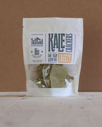 Troo Food Kale Crackers CHEEZY 50g